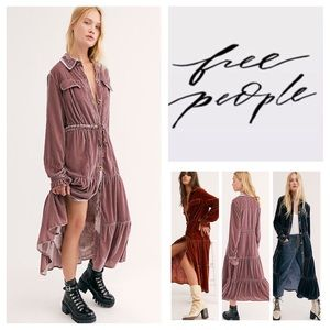 Free People Bella Donna Duster.  NWT.
